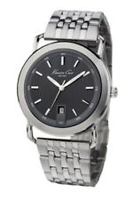 Kenneth Cole New York KC3808 Men's Stainless Steel Black Dial Dress  Watch