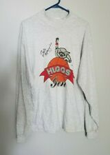Vintage Bob Huggins SIGNED UC Bearcats Long Sleeve T-Shirt Size Large