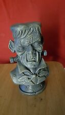 New Frankenstein Bust Decoration Halloween Resin VERY KOOL