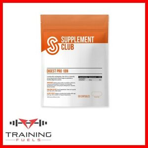 Supplement Club Digest Pro 1BN 90 Caps Probiotics, 100% Recyclable Packaging