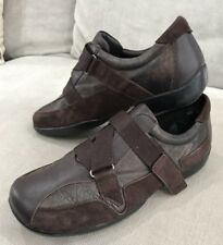 SUPER COMFY Womens KUMFS ZIERA Size 36 Ladies Brown Leather Suede Shoes