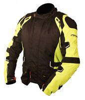 Armr Moto Kumaji Textil Protección CE Impermeable Chaqueta de la Motocicleta T