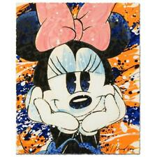 David Willardson HAPPY DAZE Disney Minnie Limited Edition Serigraph, Hand Signed