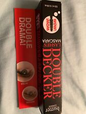 Butter London Double Decker Lashes Mascara - 0.18oz Travel-Sample/ BRAND NEW BOX