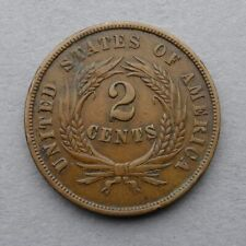Two, 2 Cents, 1864.
