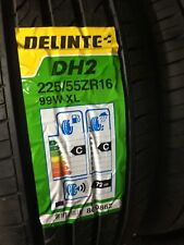 225/55ZR16 DELINTE DH2 NEW QUALITY TYRES.2255516 LOW PRICE BUDGET.NEW TYRES