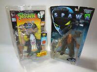 McFarlane Spawn Action Figure Comic Book CLOWN 1994 Burnt Spawn Movie Lot New