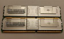 Samsung 4GB Kit- 2x 2GB DDR2 667mhz 2Rx8 pc2-5300F ECC Fully Buffered Server RAM
