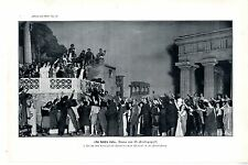 W. Protopopoff Drama Die Hetäre Laïs Theater St. Petersburg Photo-Kunstdruck1909
