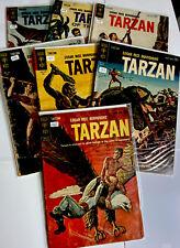 TARZAN - GOLD KEY COMICS - LOT OF TWENTY ONE - 132 - 160