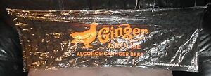 Ginger Grouse Alcoholoc Ginger Beer Rubber Mat - Ideal For Mancaves, Home Bars