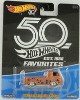 1:64 Hot Wheels 50th anniversary Favorites Real Riders 60 Ford Ecoline