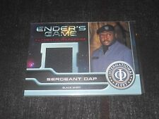 Enders Game Movie Costume Trading Card Sergeant Dap MO10