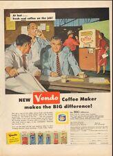 1958 Vintage ad for Vendo Coffee Maker`The Vendo Company`Kansas City (061816)