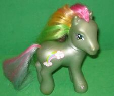 My Little Pony-Gray/Green with PINK -YELLOW & GREEN MANE -Rainbow-2002