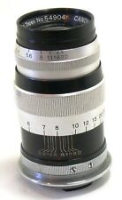 Vintage Canon 100mm f/3.5 lens Leica LTM screw EXC #35807