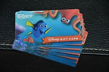 NEW 2016 Walt Disney World Finding Dory Gift Card Nemo Hank Octopus Pixar