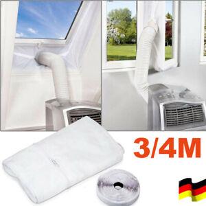 3/4M Klimaanlage Fenster Abdichtung Hot Air Stop Klimagerät für Mobile Zubehö