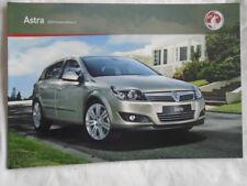 Vauxhall Astra range brochure 2009 Ed 3