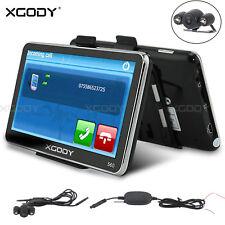 XGODY 560 5'' GPS Bluetooth SAT NAV Navigation Wireless Backup Camera 3D Map