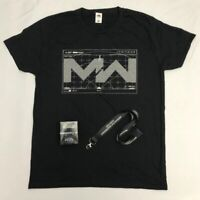 Call of Duty Modern Warfare Promo Bundle | T-Shirt L | Lanyard | Price Figurine