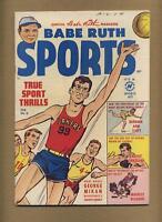 Babe Ruth Sports Comics #6 (Strict VG) baseball, Harvey; Golden Age (bl-0152)