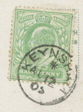 "2450 ""KEYNSHAM"" (BRISTOL) superb extremely rare Thimble (19 mm, Code ""*"") 1905"