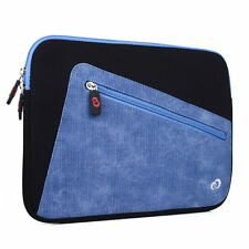 Top Loading Neoprene Sleeve w/ Front Accessory Pocket fits Amazon Kindle DX 2