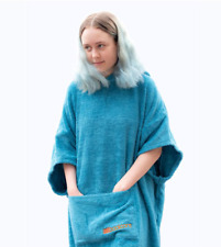 BOOICORE CHANGING TOWEL ROBE OUTDOOR SPORTS SWIMMING SURF CAMPING - TURQUOISE