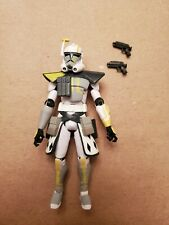 Star Wars The Clone Wars Arc Trooper Commander Blitz Complete w/ Accessories
