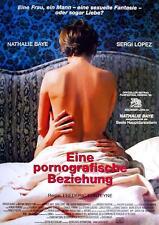 Nathalie Baye Sergi Lopez Eine pornografische Beziehung Poster Orig. A1 gerollt