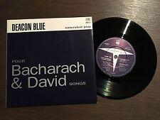 """DEACON BLUE Four Bacharach & David Songs 7"""" EP 1990 NM/NM vinyl 45 CBS DEAC 12"""
