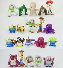 "lot of  10 Toy Story mini pvc defferent  figures 2""-2.5""  (BY random )"