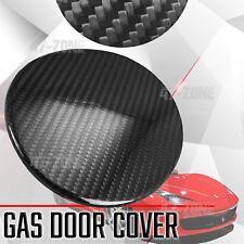 For 10-15 Ferrari 458 Italia Spide Real Carbon Fiber Gas Door Cover Overlay Trim