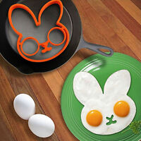 New Kitchen Fried Egg Mold Silicon Breakfast Pancake Mould Shaper Cooking Tools