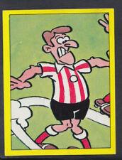 Panini Football 1987 Sticker - No 277 - Football Cartoon (S880)