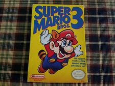 Super Mario Bros 3 - Nintendo - NES - Authentic Original Box Only!