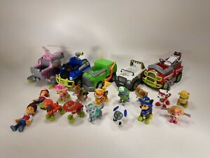 Huge Lot of Paw Patrol Action Figures and Vehicles See Pictures         (12)
