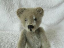 "Rare Light Grey 5"" 1920s Schuco Perfume Bottle Bear in Fantastic Condition."