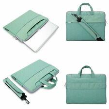 iPad Pro 12.9 Sleeve Case Shock Absorbing Daily Zippered Croosbody Handbag Green