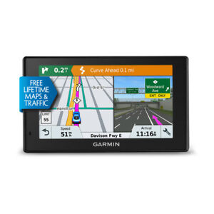 Garmin DriveSmart 51 LMT-S Auto GPS with Lifetime Maps & Traffic 010-01680-02