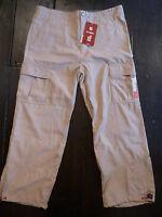 New NWT Animal beige chino, khaki, trousers, combats, 3/4 pant. X Large,  Junior