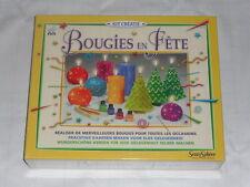 kit sentosphère pour réaliser de merveilleuses bougies colorées à partir de 8ans