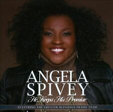 Angela Spivey - He Keeps His Promise - New Factory Sealed CD
