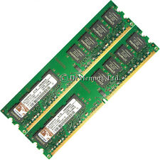 2 Gb 2x1gb Ddr2-667 Pc2-5300 5300u Non-ecc Dimm Memoria Ram 4 Pc De Escritorio 240 Pines