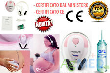 Rilevatore Fetale doppler Angel SOUND CUORE MONITOR PORTATILE Angelsounds Fetal