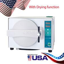 18L Medical Steam Autoclave Sterilizer Dental Lab Equipment Full Warranty Drying