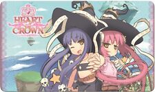 Heart Of Crown Deck-Building Card Game The Twins Lain And Shion Playmat Japanime