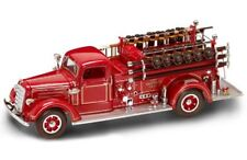 Mack Type 75 1938 Fire Truck 1:24 Model LUCKY DIE CAST