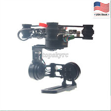 FPV 3Axis Brushless Gimbal Gopro Camera Stabilizer Motor & Storm32 Controller US